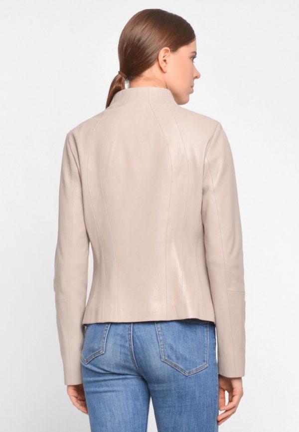 Приталеннаякожаная куртка