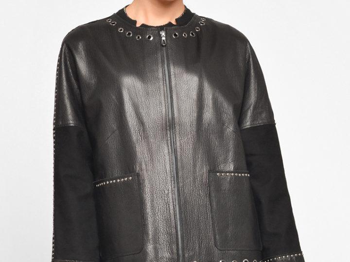 Дизайнерские кожаные куртки