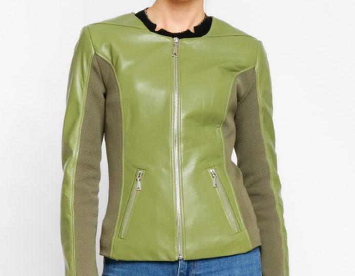 Классические кожаные куртки (женские)