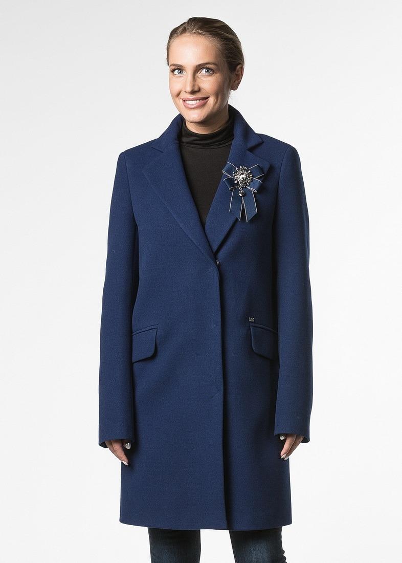 Пальто из шерсти в стиле удлиненный пиджак