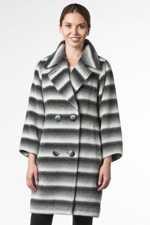 Пальто альпака «летучая мышь»
