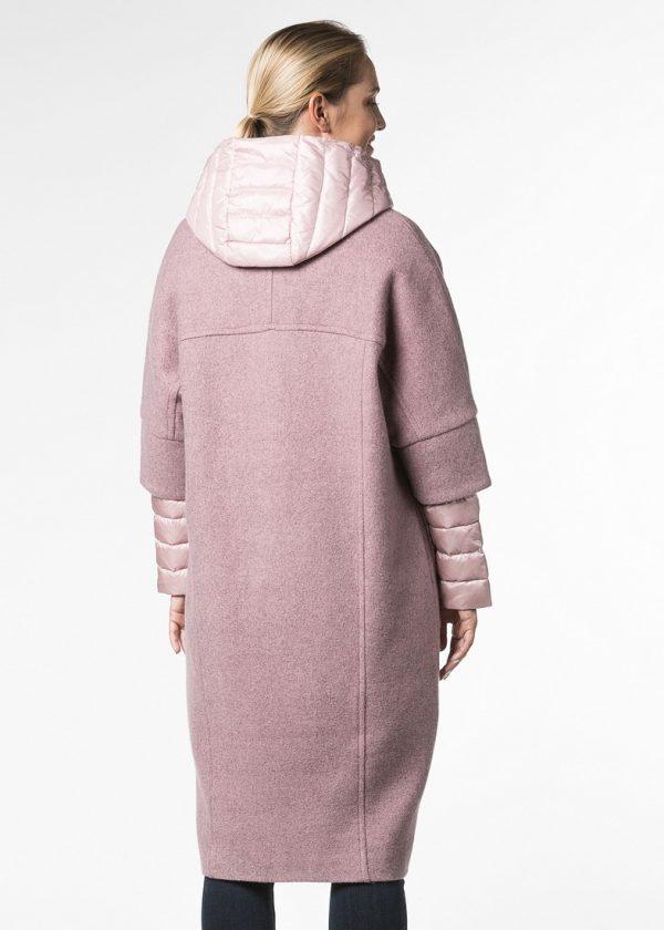 Комплект стеганого пальто с био наполнителем и пальто из шерсти