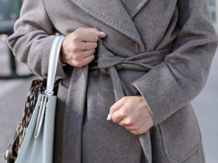 Пальто из ткани