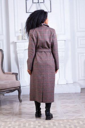 Купить Демисезонное пальто из шерсти с классическим плечом