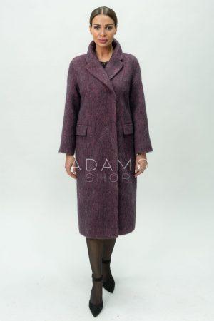 Купить Демисезонное пальто из шерсти с английским воротом